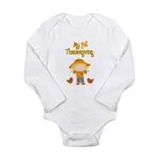 Scarecrow My First Thanksgiving Long Sleeve Infant