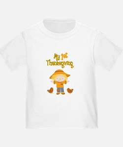 Scarecrow My First Thanksgiving T