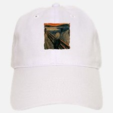 The Scream Baseball Baseball Cap