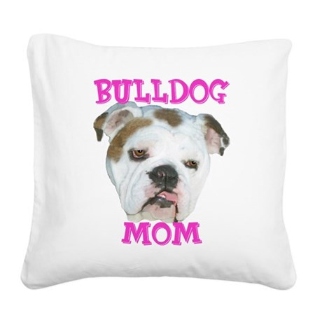 bdmomedited.png Square Canvas Pillow