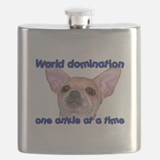 Chihuahua world Flask