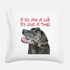 labnotadog.png Square Canvas Pillow