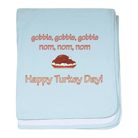 Happy Turkey Day baby blanket