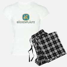 Bockenplautz Blue Logo Pajamas