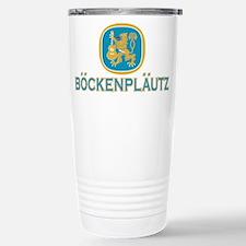 Bockenplautz Blue Logo Travel Mug