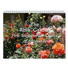 Rose Garden Wall Calendar