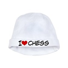 I Heart Chess baby hat
