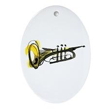 Trumpet Ornament (Oval)