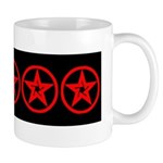 Pentagram Red As Above #1 Mug