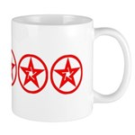 Pentagram Red As Above #2 Mug