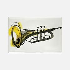 Trumpet Rectangle Magnet