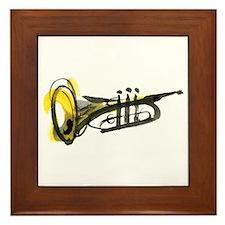 Trumpet Framed Tile