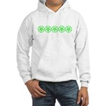 Pentagram Green So Below Hooded Sweatshirt