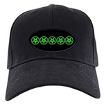 Pentagram Green So Below Black Cap