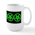 Pentagram Green So Below Large Mug