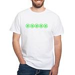 Pentagram Green So Below White T-Shirt