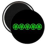 Pentagram Green So Below Magnet