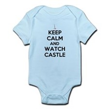Keep Calm and Watch Castle Infant Bodysuit