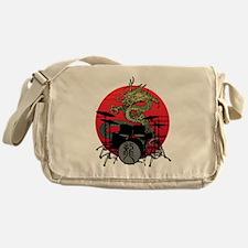 Dragon drum 1 Messenger Bag