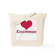 Heart Kissimmee Tote Bag