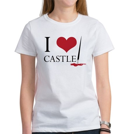 I Heart Castle Women's T-Shirt