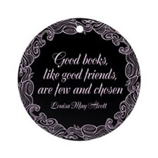 Good Books Ornament (Round)