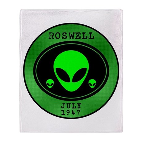 Roswell July 1947 Throw Blanket