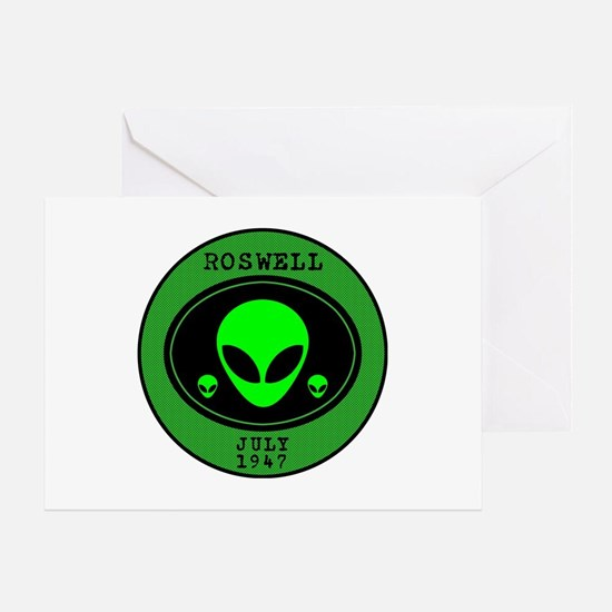 Roswell July 1947 Greeting Card