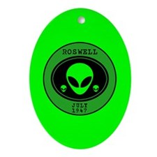Roswell July 1947 Ornament (Oval)