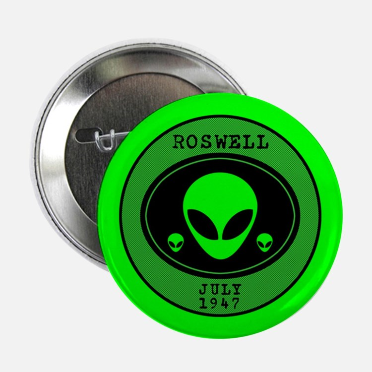"""Roswell July 1947 2.25"""" Button"""