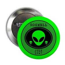 """Roswell July 1947 2.25"""" Button (100 pack)"""