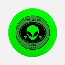 """Roswell July 1947 3.5"""" Button"""
