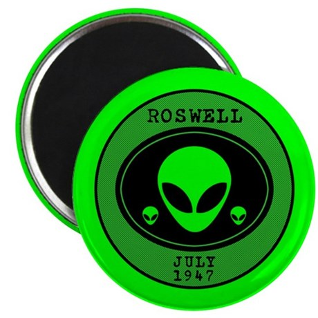 """Roswell July 1947 2.25"""" Magnet (100 pack)"""