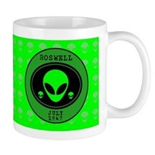 Roswell July 1947 Small Mugs