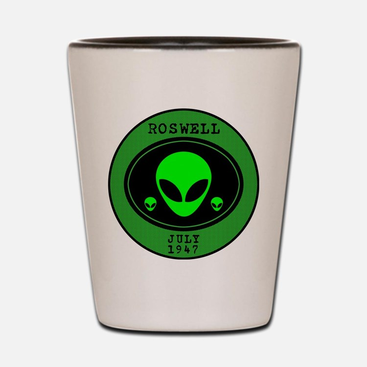 Roswell July 1947 Shot Glass