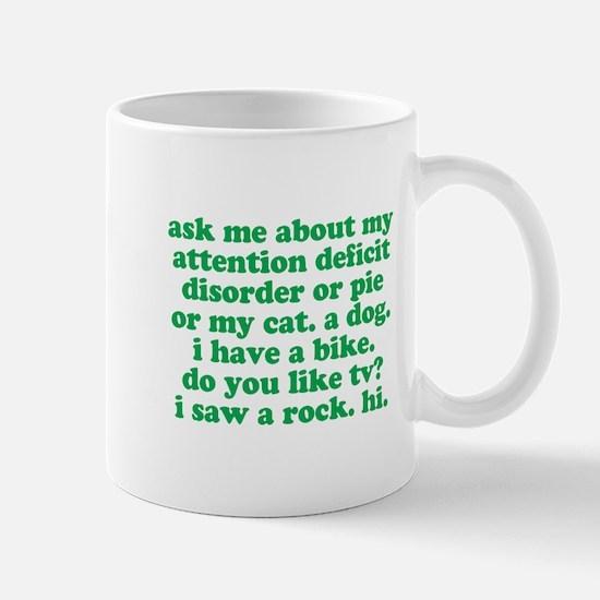 Funny My ADD Quote Mug