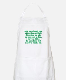 Funny My ADD Quote Apron