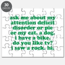 Funny My ADD Quote Puzzle