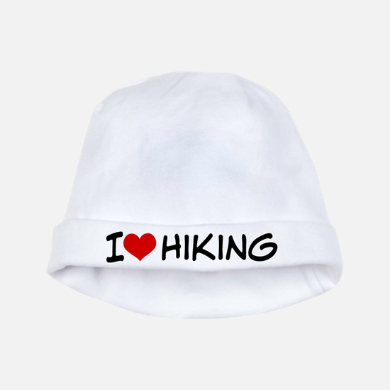 I Heart Hiking baby hat