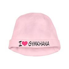 I Heart Gymkhana baby hat