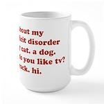 Ask Me About My ADD ADHD Large Mug