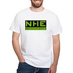 NHE Non Human Entity White T-Shirt