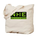NHE Non Human Entity Tote Bag