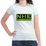 NHE Non Human Entity Jr. Ringer T-Shirt