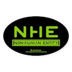 NHE Non Human Entity Oval Sticker (50 pk)