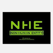 NHE Non Human Entity Postcards (Package of 8)