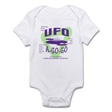 UFO A Go Go Light Infant Bodysuit