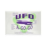 UFO A Go Go Light Rectangle Magnet (100 pack)