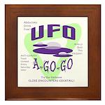 UFO A Go Go Light Framed Tile