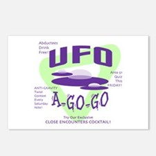 UFO A Go Go Light Postcards (Package of 8)